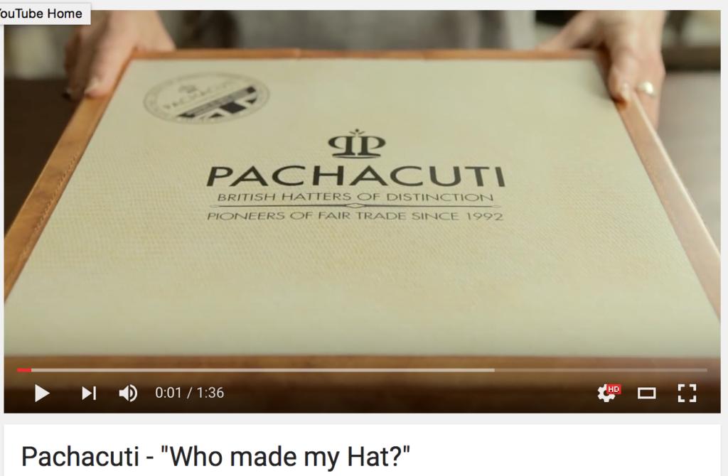 Who made my hat? Pachacuti
