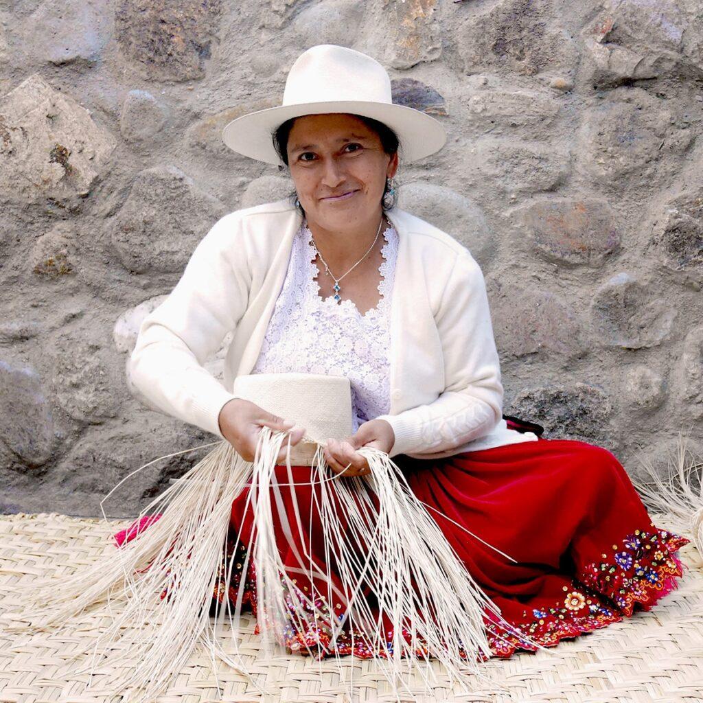 Classic Fedora – Fine Llano Weave