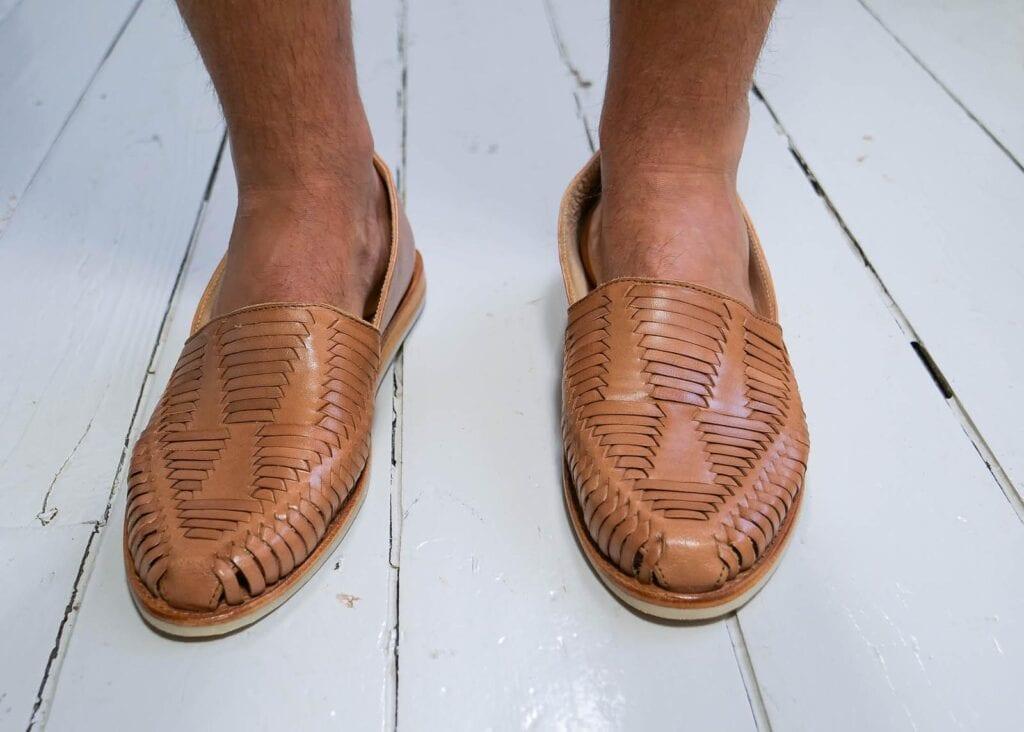 Camino Slip-Ons Tan
