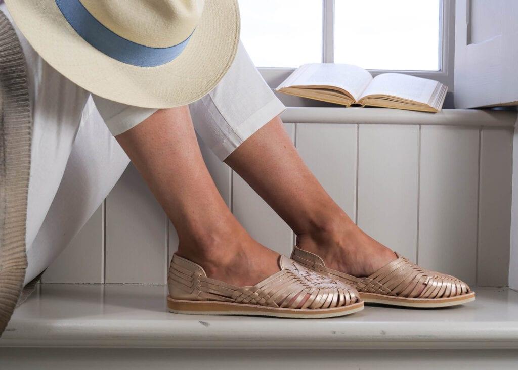 Sienna Sandals Rose Gold